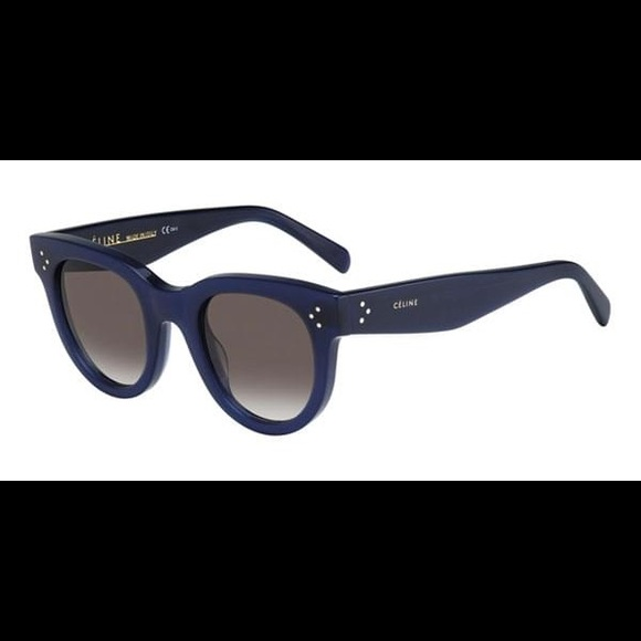 e8ec999ea14b Celine Accessories - Celine Navy Round Sunglasses